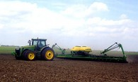 Started Planting This Morning April 23, 2018