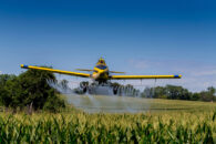Trent Is Spraying His Corn And Soybeans