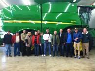 Ukrainians Visit Brandenburg Farms